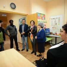Visita Delegada del gobierno a Anaquerando.